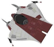 A-Wing vector by Mark5150