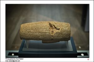 The Cyrus the Great Cylinder by imanwow