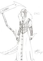 Character Concept: Chaos by ZephronScythe
