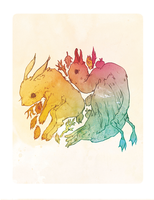 Lucky Rabbit Foot by flyk