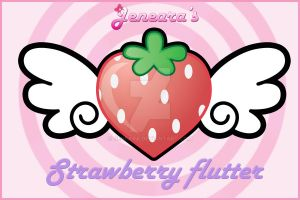 Strawberry Flutter by Jeneara