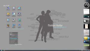 My City Hunter Wallpaper by Calouette