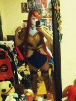 Erza Scarlet Nakagami armor first fiting! by SCARLET-COSPLAY
