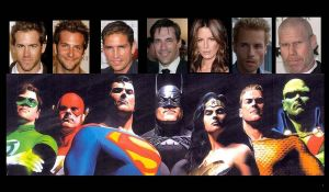 JLA movie by Lordwormm