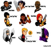 Marvel IH heads 2 by IHComicsHQ