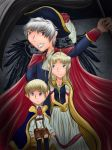 Germanic Family Portrait by Violyd