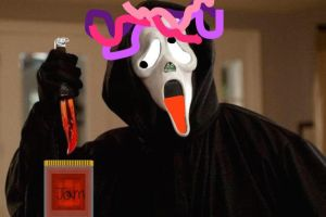 candy ghostface by rascal2002