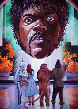 'Bad Mutha Wizard' by davidmacdowell