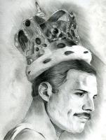 Freddie Mercury by Sylarius