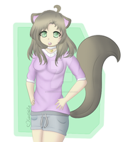 Neko - (Color Practice) by CourtiePie567
