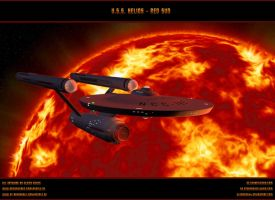 STAR TREK - USS HELIOS / NCC-1697 by ulimann644