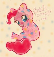 PINKY ONESY by LAUBoZ