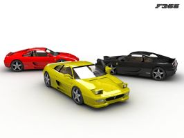 Three F355 by ProDigital