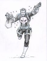 Punisher Pencils by 93Cobra