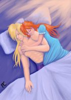 Gourry and Lina by kelseyleah