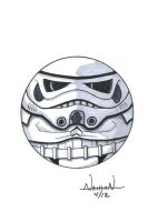 CircleToon: Stormtrooper by Fellhauer