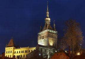 Clock Tower, another view by mariustipa