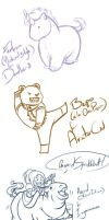 Livestream chibi sketch requests 4 October 2013 by Nytrinhia