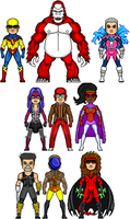 New Amalgam Comics: Enemies of Silverflash by Red-Rum-18