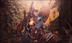 DeadPool In Cannibal Jungle by isma92