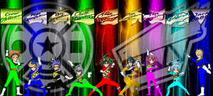 Arc-V Kyoryuger-Ohranger Team-Up by rangeranime