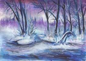 Winter land by JenniElfi