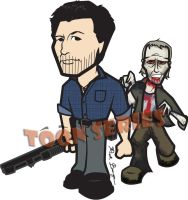 Shane Walsh - The Walking Dead by toonseries
