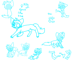 working on a new ref...for milly by MillyTheTigerKitten