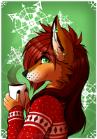 Coffee +SPEEDPAINT by WolFirry