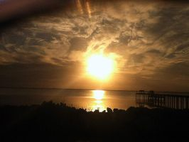 OBX Sunset 2 by SwimmerGirl96