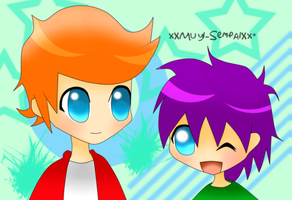 .:Request:. -Fry and Lucas- by xXMuyi-SempaiXx