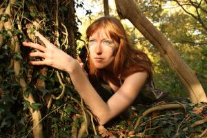 Forest dryad 7 by CAStock