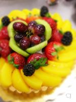 Fruit Tart by caramelizedonion