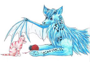 Share with the kitten TRADE by global-wolf