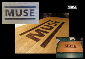 MUSE - pyrography by Lukeykins73