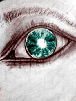 eye sketch edit by LostInMyOwnDream
