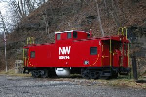 Norfolk and Western Caboose # 25674 by uglygosling