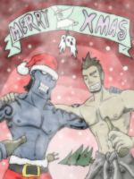Free wishes a Merry Xmas by DemonEyeFree
