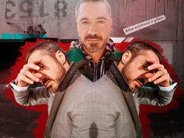 Without a Plan RDJ wall by Tiate