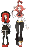 Gym Leader Scarlet by NachtBeirmann