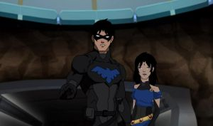 Nightwing and Roxanne by TheDarkRaven17