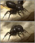 Giant Scarab by daarken