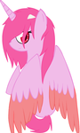 Elfen lied Lucy (pony version)(MS paint only) by Velvet-Harmonys-Art