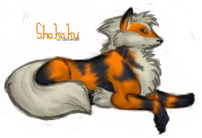 .Arcanine. by Wolvenish