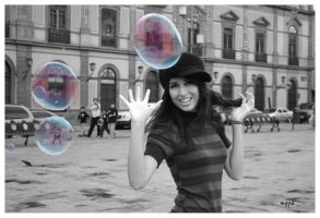 ...Bubbles girl2... by magupia
