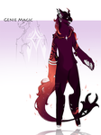CD Auction: Genie Magic [CLOSED] by CarrotIndustry