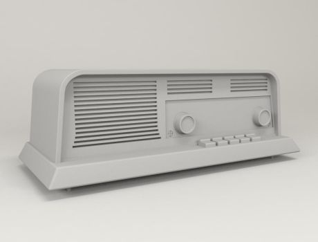 Modeling 3D Old Radio by moudjahad