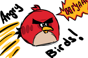 Angry Birds by justFiyen