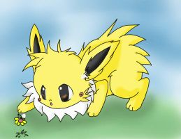 .:GA:. M.H Jolt the jolteon by pikafan-1
