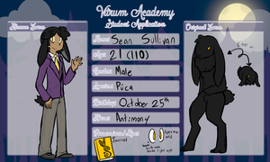 Vitrum Academy - Student App - Sean Sullivan by Chocolatewoosh